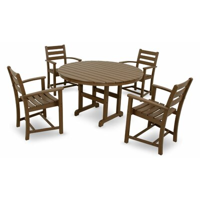 Monterey Bay 5 Piece Dining Set Color: Tree House