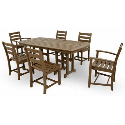 Monterey Bay 7 Piece Dining Set Color: Tree House