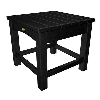 Rockport Club Side Table Finish: Charcoal Black