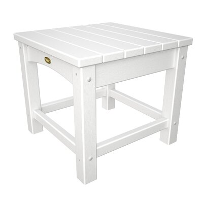 Rockport Club Side Table Finish: Classic White