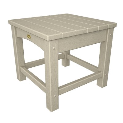 Rockport Club Side Table Finish: Sand Castle