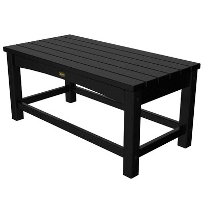 Rockport Club Coffee Table Finish: Charcoal Black