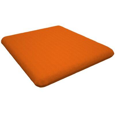 Trex Outdoor Sunbrella Dining Chair Cushion Fabric: Tangerine
