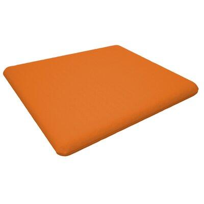 Trex Outdoor Seat Cushion Fabric: Tangerine