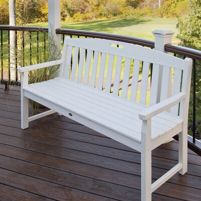 "Trex Outdoor Yacht Club Polyethylene Garden Bench (Set of 7) - Size: 48"", Color: Vintage Lantern at Sears.com"