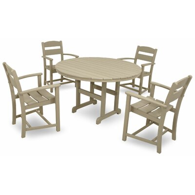 Classics 5 Piece Dining Set Color: Sand