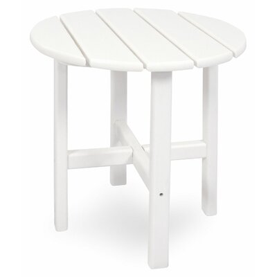 Classics Side Table Finish: White