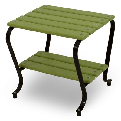 Ivy Terrace Side Table - Color: Black/Lime at Sears.com