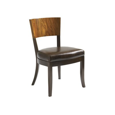 Allure Genuine Leather Upholstered Dining Chair