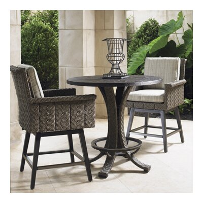 Blue Olive Bar Height Dining Set Cushions