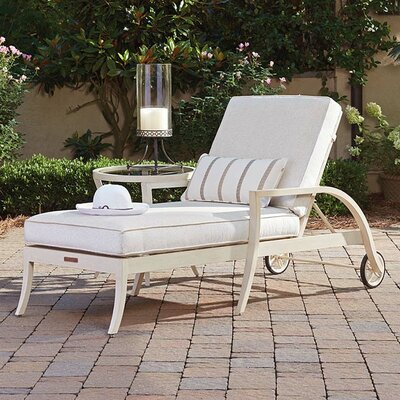 Misty Garden Chaise Lounge with Cushion