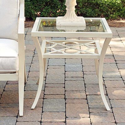 Misty Garden Square End Table