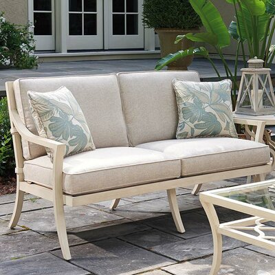 Stylish Garden Loveseat Cushion Product Photo