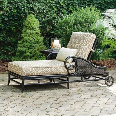 Marimba Chaise Lounge with Cushion