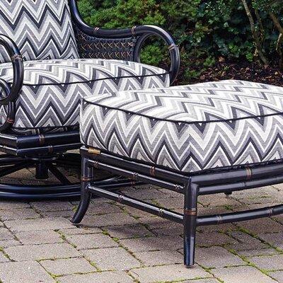 Marimba Ottoman Ottoman Fabric: Black/Grey