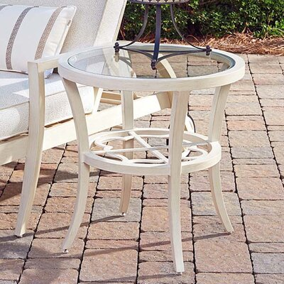 Misty Garden Round End Table