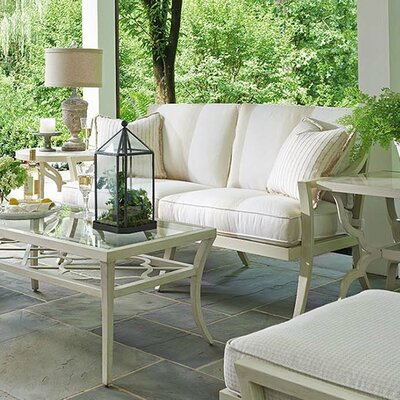 Misty Garden Loveseat with Cushion