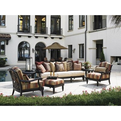 Kingstown Sedona 4 Piece Deep Seating Group with Cushions