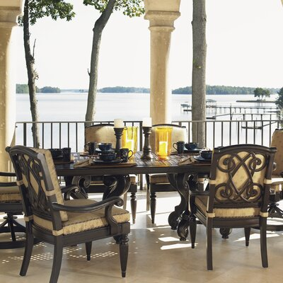 Kingstown Sedona 7 Piece Dining Set with Cushions