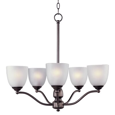 Callimont 5-Light Shaded Chandelier Finish: Oil Rubbed Bronze