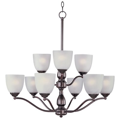 Callimont 9-Light Shaded Chandelier Finish: Oil Rubbed Bronze