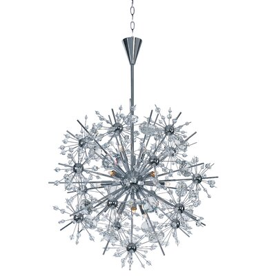 Mattern 11-Light Sputnik Chandelier