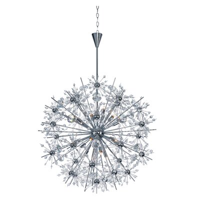 Mattern 18-Light Sputnik Chandelier