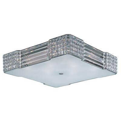 Manhattan 8- Light Flush Mount