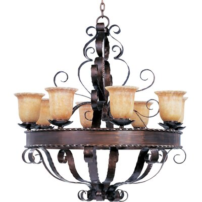 Willer 8-Light Shaded Chandelier