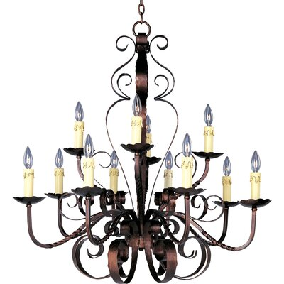 Willer 12-Light Candle-Style Chandelier