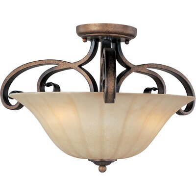 Windle 3-Light Semi-Flush Mount
