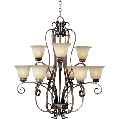 Fremont 9-Light Shaded Chandelier