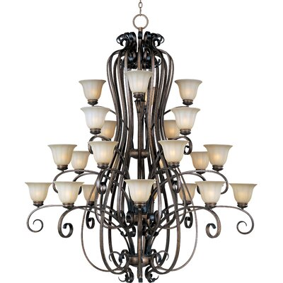 Fremont 24-Light Shaded Chandelier