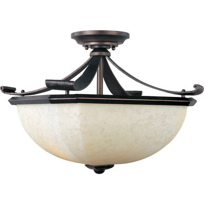 Cottrell 2-Light Semi-Flush Mount