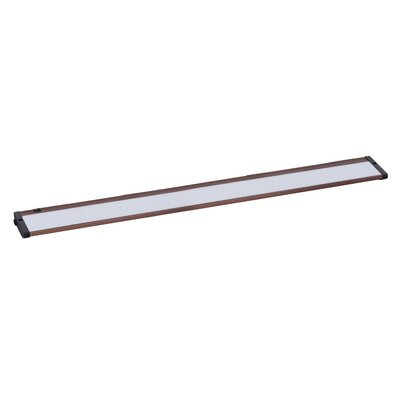 CounterMax MX-L120-EL 30 LED Under Cabinet Bar Light Finish: Anodized Bronze