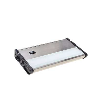 CounterMax MX-L120-DL 7 LED Under Cabinet Bar Light Finish: Satin Nickel
