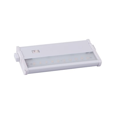CounterMax MX-L120-DL 7 LED Under Cabinet Bar Light Finish: White