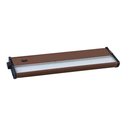 CounterMax MX-L120-DL 13 LED Under Cabinet Bar Light Finish: Metallic Bronze