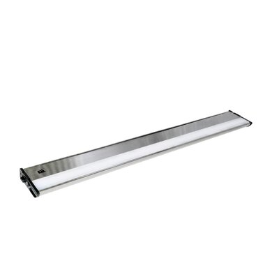 CounterMax MX-L120-DL 30 LED Under Cabinet Bar Light Finish: Satin Nickel