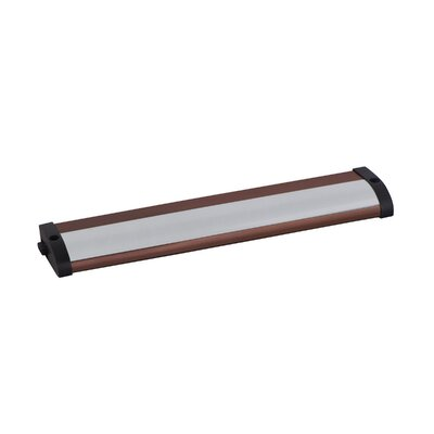 CounterMax MX-L120-LO 10 LED Under Cabinet Bar Light Finish: Anodized Bronze
