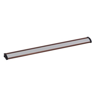 CounterMax MX-L120-LO 21 LED Under Cabinet Strip Light Finish: Anodized Bronze