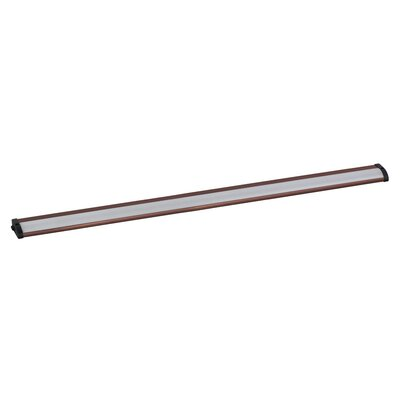 CounterMax MX-L120-LO 30 LED Under Cabinet Strip Light Finish: Anodized Bronze
