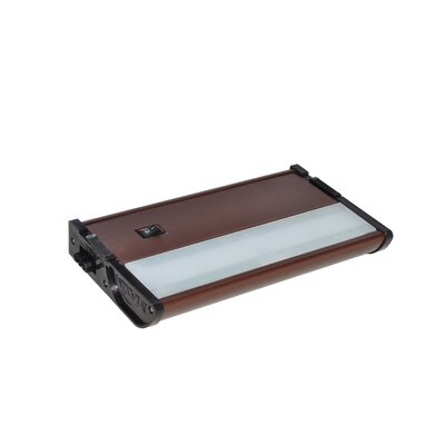 CounterMax MX-L120DC 7 LED Under Cabinet Bar Light Finish: Metallic Bronze