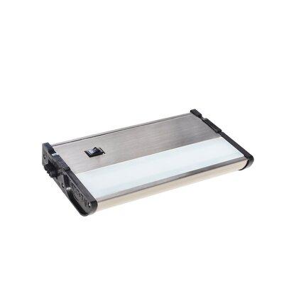 CounterMax MX-L120DC 7 LED Under Cabinet Bar Light Finish: Satin Nickel