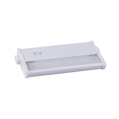 CounterMax MX-L120DC 7 LED Under Cabinet Bar Light Finish: White