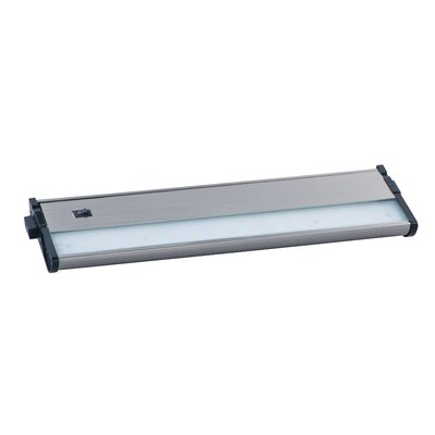 CounterMax MX-L120-DL 13 LED Under Cabinet Bar Light Finish: Satin Nickel
