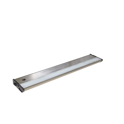 CounterMax MX-L120-DL 21 LED Under Cabinet Bar Light Finish: Satin Nickel