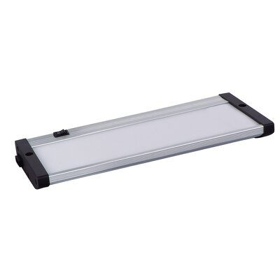 CounterMax MX-L120-EL 10 LED Under Cabinet Bar Light Finish: Brushed Aluminum
