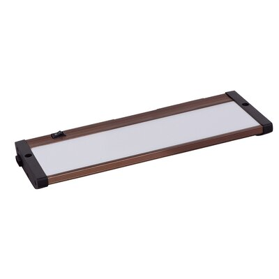 CounterMax MX-L120-EL 10 LED Under Cabinet Bar Light Finish: Anodized Bronze