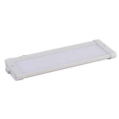 CounterMax MX-L120-EL 10 LED Under Cabinet Bar Light Finish: White